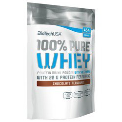 Протеин BioTech 100% Pure Whey jar (454 г)