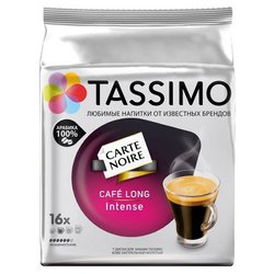 Tassimo Кофе в капсулах Tassimo Carte Noire Cafe Long Intense (16 шт.)