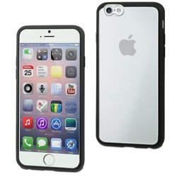 Чехол-накладка для Apple iPhone 6 Plus, 6s Plus (Muvit Myframe Case MUBMC0101) (черный)
